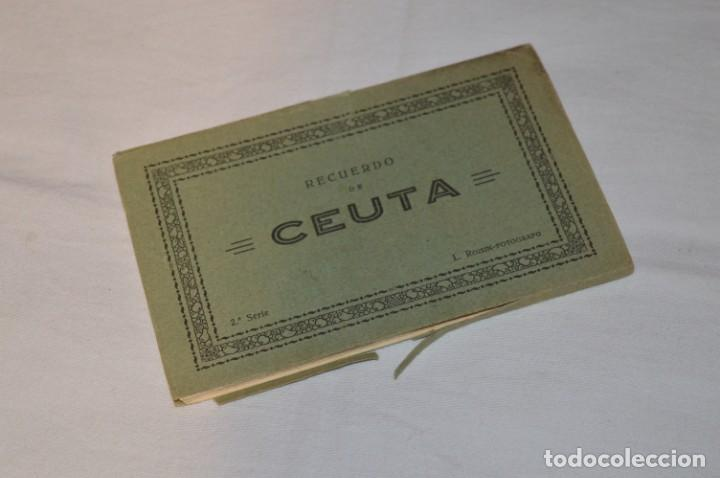 Postales: BLOC de 10 postales - CEUTA - Antiguas, buen estado, sin circular - ¡Mira fotos! - Foto 2 - 224379137