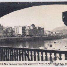 Postales: CEUTA - UNA HERMOSA VISTA DE LA CIUDAD DEL NORTE DE AFRICA - Nº 9. FOTO RUBIO.. Lote 225041200