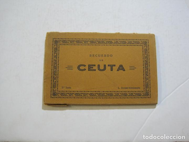 Postales: CEUTA-BLOC CON 10 POSTALES ANTIGUAS-FOTOGRAFO ROISIN-VER FOTOS-(75.802) - Foto 2 - 225199170