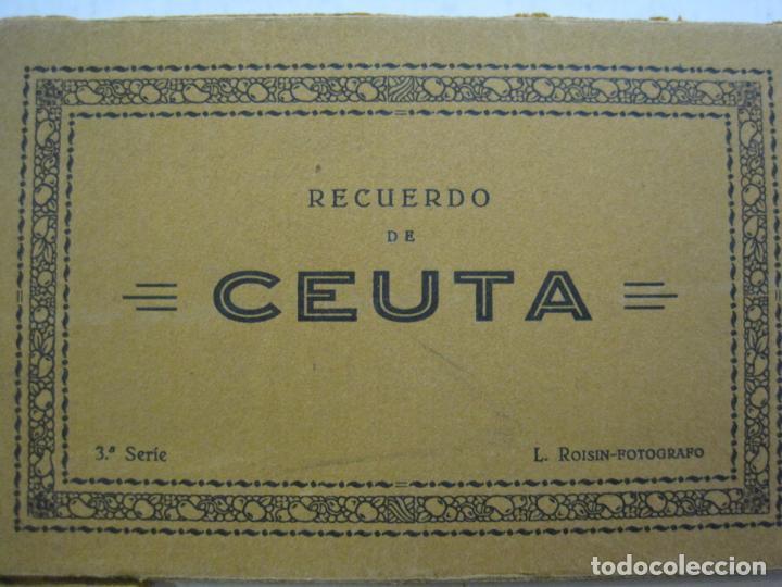 Postales: CEUTA-BLOC CON 10 POSTALES ANTIGUAS-FOTOGRAFO ROISIN-VER FOTOS-(75.802) - Foto 3 - 225199170