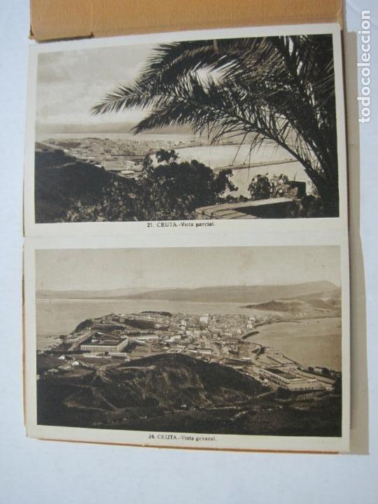 Postales: CEUTA-BLOC CON 10 POSTALES ANTIGUAS-FOTOGRAFO ROISIN-VER FOTOS-(75.802) - Foto 7 - 225199170
