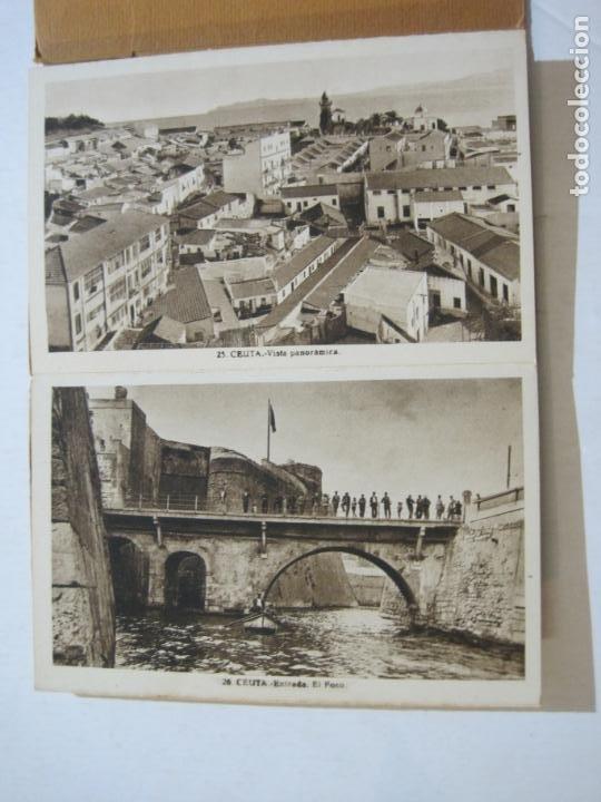 Postales: CEUTA-BLOC CON 10 POSTALES ANTIGUAS-FOTOGRAFO ROISIN-VER FOTOS-(75.802) - Foto 8 - 225199170