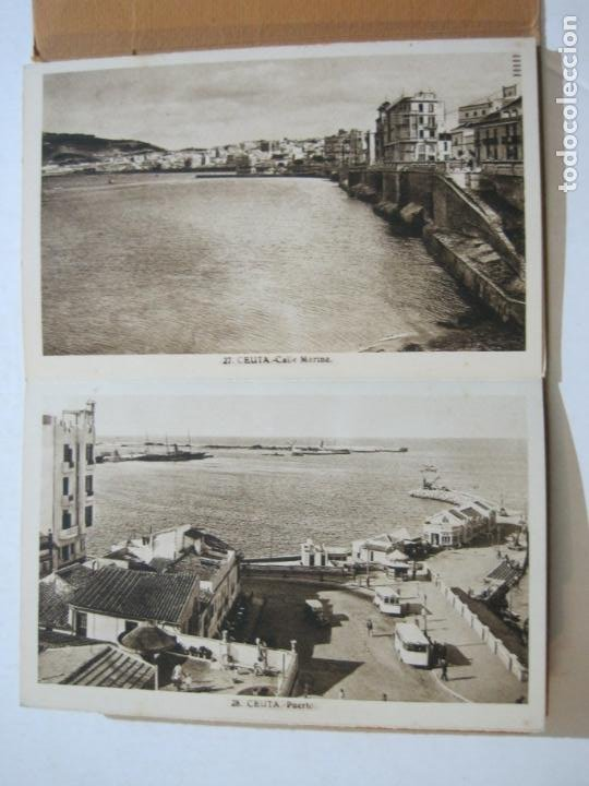 Postales: CEUTA-BLOC CON 10 POSTALES ANTIGUAS-FOTOGRAFO ROISIN-VER FOTOS-(75.802) - Foto 9 - 225199170