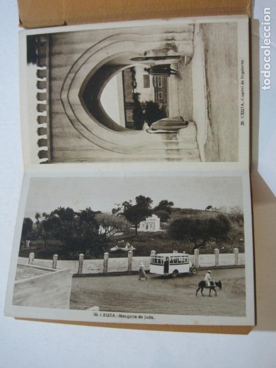 Postales: CEUTA-BLOC CON 10 POSTALES ANTIGUAS-FOTOGRAFO ROISIN-VER FOTOS-(75.802) - Foto 10 - 225199170