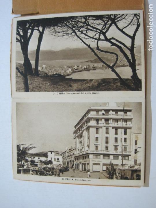 Postales: CEUTA-BLOC CON 10 POSTALES ANTIGUAS-FOTOGRAFO ROISIN-VER FOTOS-(75.802) - Foto 11 - 225199170
