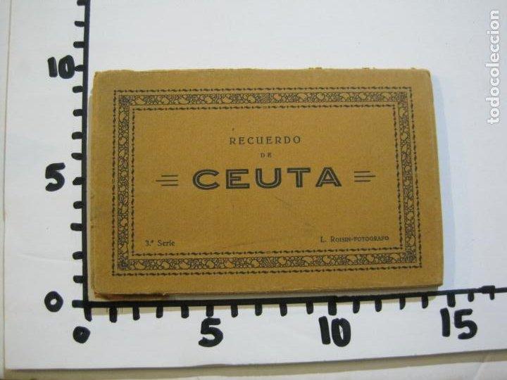 Postales: CEUTA-BLOC CON 10 POSTALES ANTIGUAS-FOTOGRAFO ROISIN-VER FOTOS-(75.802) - Foto 12 - 225199170