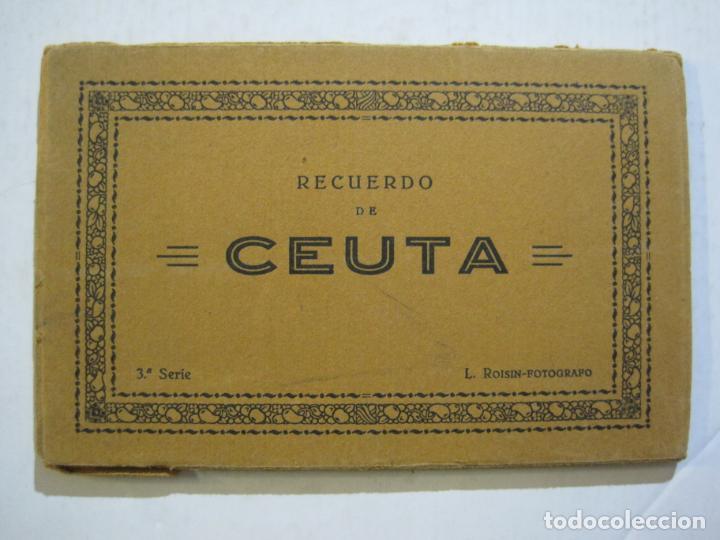 CEUTA-BLOC CON 10 POSTALES ANTIGUAS-FOTOGRAFO ROISIN-VER FOTOS-(75.802) (Postales - España - Ceuta Antigua (hasta 1939))