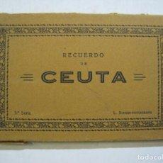 Postales: CEUTA-BLOC CON 10 POSTALES ANTIGUAS-FOTOGRAFO ROISIN-VER FOTOS-(75.802). Lote 225199170