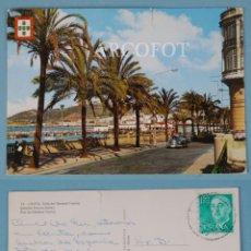 Postales: ANTIGUA POSTAL - 13 - CEUTA - CALLE DEL GENERAL FRANCO - GARCÍA GARABELLA. Lote 225211838