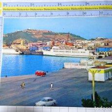 Cartoline: POSTAL DE CEUTA. AÑO 1970. MUELLE DE ESPAÑA CON TRANSBORDADORES TRASMEDITERRANEA. 101 . 1584. Lote 230287855