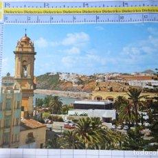 Cartoline: POSTAL DE CEUTA. AÑO 1973. VISTA PARCIAL . CARTEL PUBLICIDAD PETROLERA AMOCO. 1589. Lote 230288100