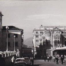 Cartes Postales: CEUTA, PLAZA DE LOS REYES, POSTAL PANORAMICA 18 X 8 CM.. ED. FOTO GARCIA CORTES. Lote 232874735