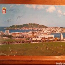 Cartes Postales: ANTIGUA POSTAL DE CEUTA Y EL CAMPO DE FÚTBOL. Lote 234042365