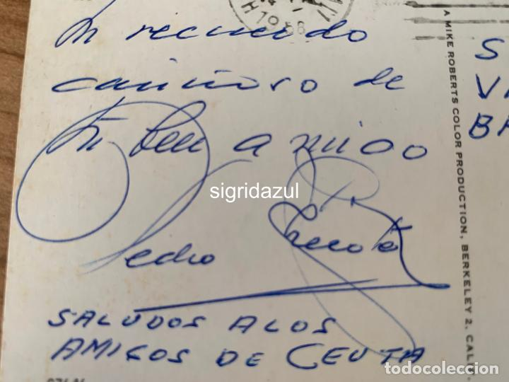 Postales: PEDRO CHICOTE PERICO CHICOTE POSTAL HAWAI BAR VICENTINO CEUTA - Foto 3 - 234944420