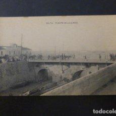 Postales: CEUTA PUENTE DE LA ALMINA. Lote 236074810