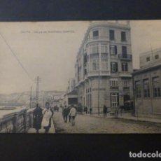 Postales: CEUTA CALLE DE MARTINEZ CAMPOS. Lote 236074910