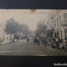 Postales: CEUTA EL REBELLIN Y CASINO ESPAÑOL. Lote 236075075