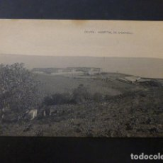 Postales: CEUTA HOSPITAL DE O´DONELL. Lote 236075105