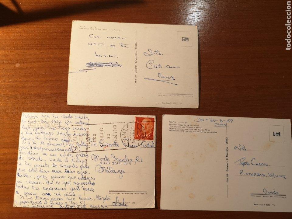 Postales: 3 Postales Ceuta años 60 - Foto 2 - 238489800