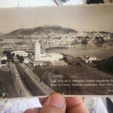 Cartes Postales: POSTAL CEUTA UNA VISTA DE LA HERMOSA CIUDAD ESPAÑOLA DE ÁFRICA FOTO RUBIO S/C. Lote 238804590