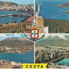 Postales: CEUTA, BELLEZAS DE LA CIUDAD - GARCIA GARRABELLA Nº60 - CIRCULADA. Lote 242156005