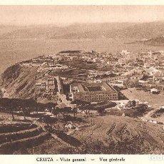 Postales: CEUTA - VISTA GENERAL. Lote 243354840