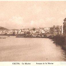 Postales: CEUTA - LA MARINA. Lote 243355115