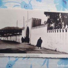 Postales: ANTIGUA POSTAL FOTOGRAFIA CUARTEL DE REGULARES, CEUTA. Lote 244672850