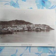 Postales: ANTIGUA POSTAL FOTOGRAFIA CEUTA - 4 VISTA DESDE EL TARAJAL, GUILERA. Lote 244673665