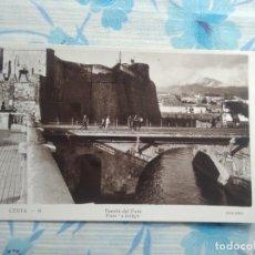 Postales: ANTIGUA POSTAL FOTOGRAFIA CEUTA - 6 PUENTE DEL FORO, GUILERA. Lote 244674170