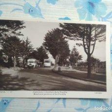 Postales: ANTIGUA POSTAL FOTOGRAFIA CEUTA -17 CARRETERA Y JARDINES DE LA PUNTILLA, GUILERA. Lote 244674480
