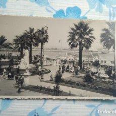 Postales: ANTIGUA POSTAL FOTOGRAFIA CEUTA PASEO DE SAN SEBASTIAN, FOTO RUBIO. Lote 244681945