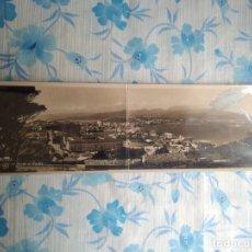 Postales: POSTAL FOTOGRAFIA CEUTA, VISTA GENERAL DESDE EL HACHO. Lote 244683315