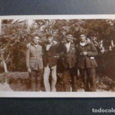 Postales: CEUTA MILITARES ARTILLERÍA HACIA 1920 POSTAL FOTOGRAFICA. Lote 248484985
