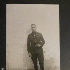 Postales: CEUTA MILITAR ARTILLERÍA HACIA 1920 POSTAL FOTOGRAFICA. Lote 248486000