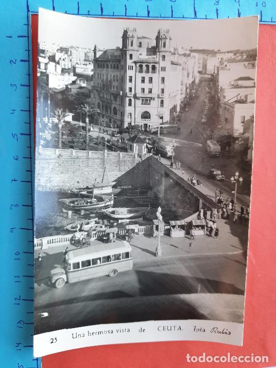 CEUTA ( AUTOBUS DE LA EPOCA ) - FOTO RUBIO ( CIRCULADA ) / ( NOV2021CONF) (Postales - España - Ceuta Moderna (desde 1940))