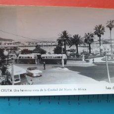 Cartoline: CEUTA ( AUTOBUSES DE LA EPOCA ) - FOTO RUBIO ( CIRCULADA ) / ( NOV2021CONF). Lote 252740735