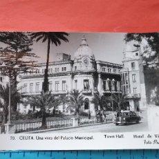 Postales: CEUTA ( COCHE DE LA EPOCA - MERCEDES ) - FOTO RUBIO ( NO CIRCULADA ) / ( NOV2021CONF). Lote 252743525