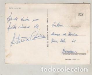 Postales: POSTAL RECUERDO DE CEUTA Nº 51 DE R, GONZALEZ - Foto 2 - 254168140