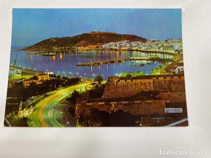 TARJETA POSTAL. CEUTA. Nº 34.- NOCTURNO DESDE LA AV. DE AFRICA (Postales - España - Ceuta Moderna (desde 1940))