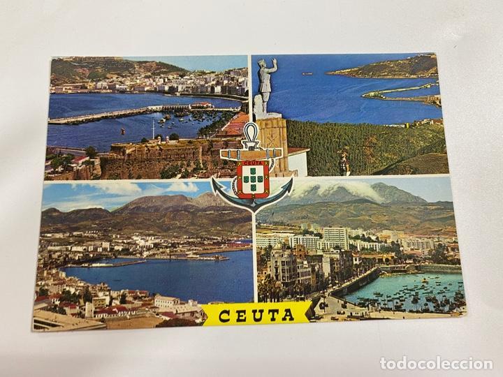 TARJETA POSTAL. CEUTA. 60.- BELLEZAS DE LA CIUDAD. GARCIA GARRABELLA Y CIA (Postales - España - Ceuta Moderna (desde 1940))