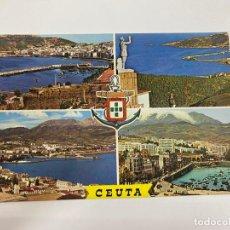 Cartoline: TARJETA POSTAL. CEUTA. 60.- BELLEZAS DE LA CIUDAD. GARCIA GARRABELLA Y CIA. Lote 254814905