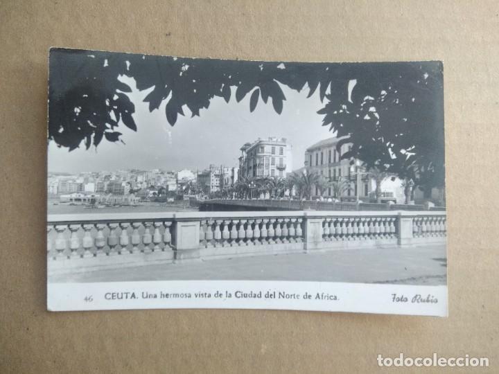 POSTAL CEUTA, FOTO RUBIO (Postales - España - Ceuta Moderna (desde 1940))