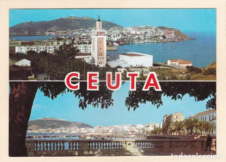 POSTAL VISTA GENERAL CEUTA (1965) (Postales - España - Ceuta Moderna (desde 1940))