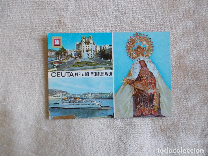 POSTAL DE CEUTA - PLAZA DEL GENERAL GALERA - AÑOS 60 - NUEVA (Postales - España - Ceuta Moderna (desde 1940))