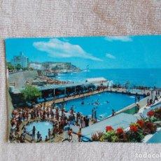 Postales: POSTAL CLUB NATACIÓN CABALLA-CEUTA-CIRCULADA CON SELLO DE FRANCO - AÑOS 60. Lote 259910700