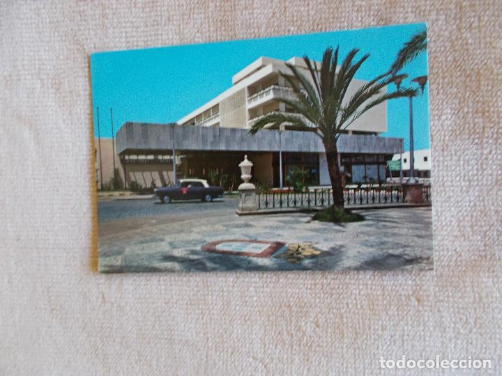 POSTAL DE CEUTA - GRAN HOTEL LA MURALLA - AÑOS 60 - CIRCULADA SIN SELLO (Postales - España - Ceuta Moderna (desde 1940))