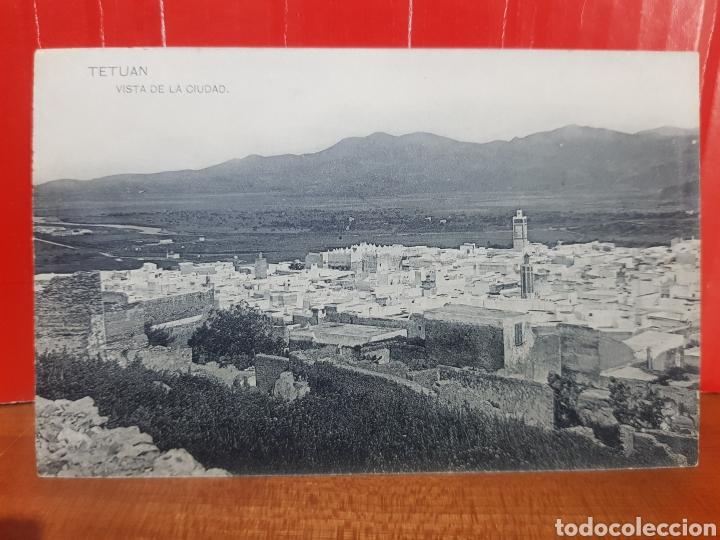 POSTAL ANTIGUA - TETUÁN VISTA DE LA CIUDAD AÑOS 20 (Postales - España - Ceuta Antigua (hasta 1939))