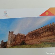 Cartoline: POSTAL MURALLAS MERINÍES CEUTA DONDE SE UNEN LAS EMOCIONES TURISMO. Lote 264778189