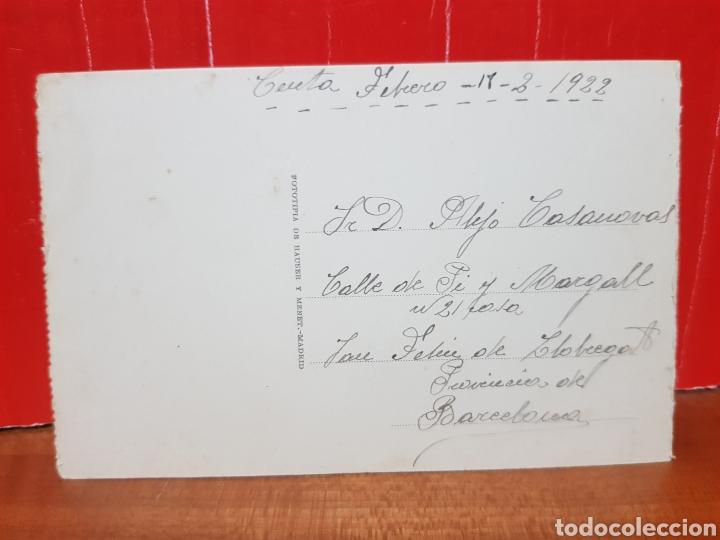 Postales: POSTAL ANTIGUA - CEUTA - VISTA GENERAL DESDE EL MOLINO AÑOS 20 - Foto 2 - 265360634